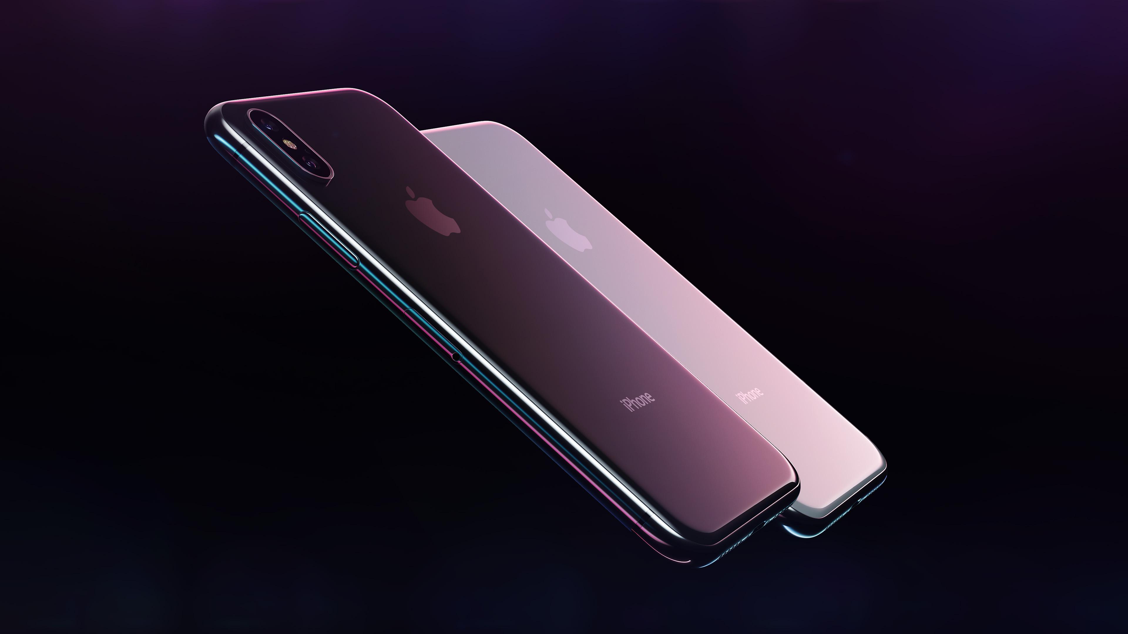 iphone x, смартфон, айфон 10, hi tech обои, 4k