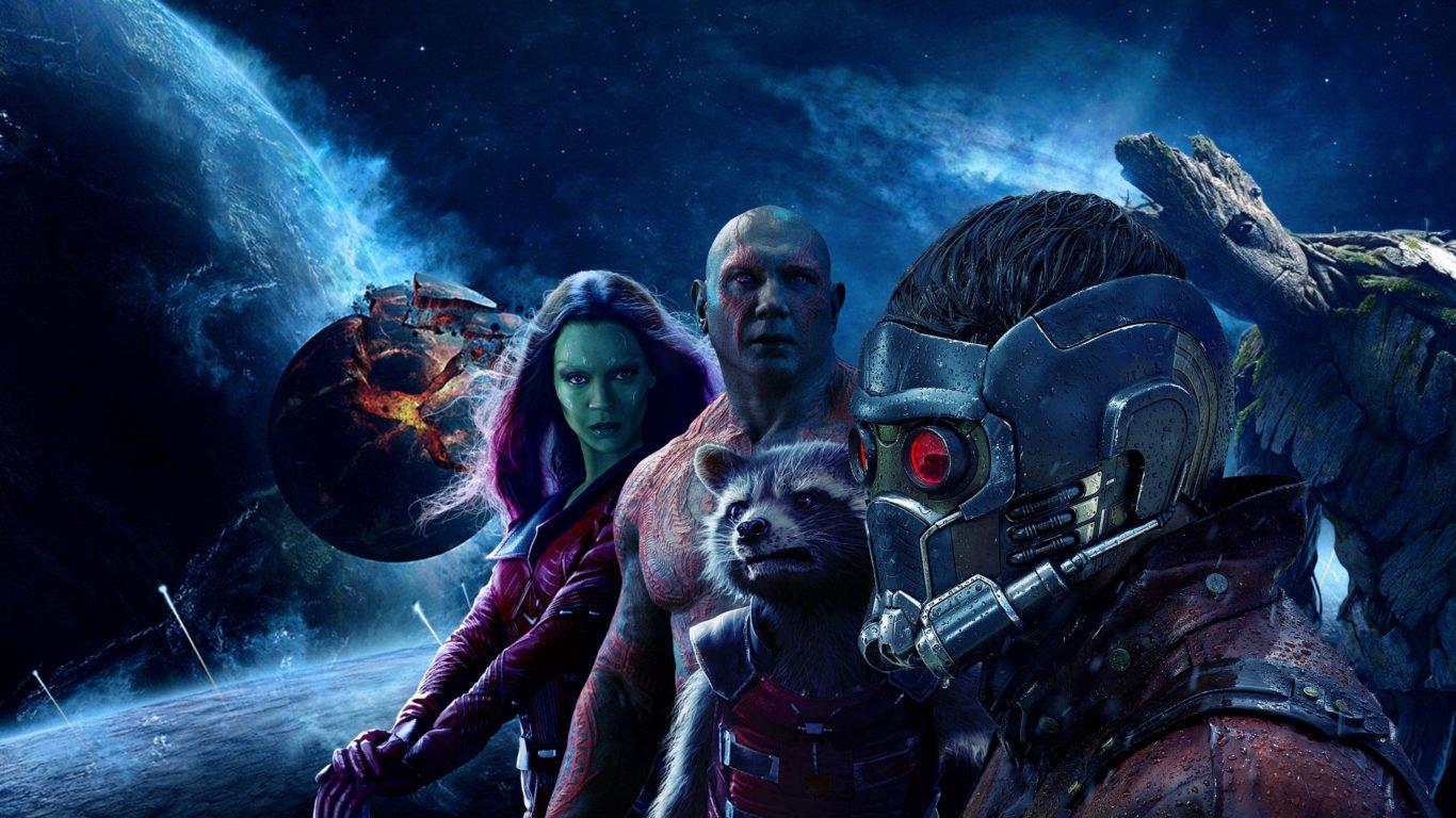 Стражи Галактики 2, обои 4к, супергерои, Guardians of the Galaxy 2, фильмы, кино