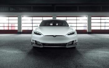 car Tesla Model S, Тесла, авто, машина, 4k обои