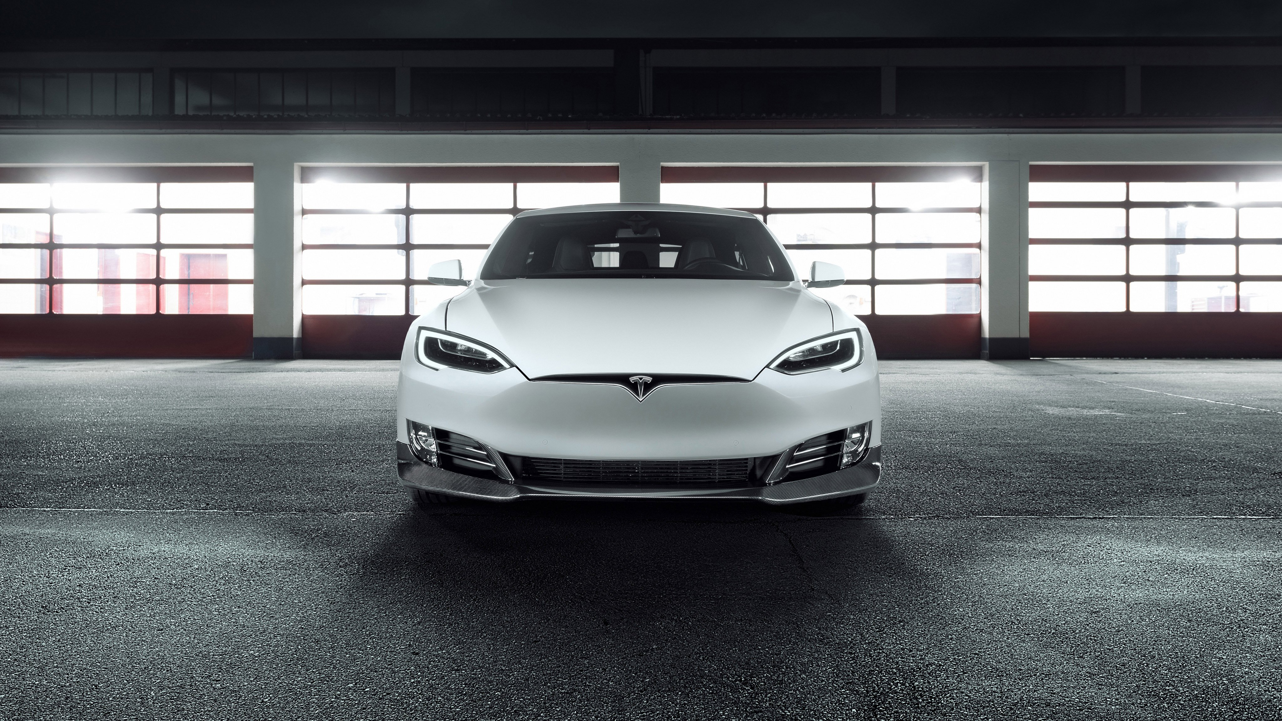 Тесла, Tesla Model S, авто, машина, 4k обои