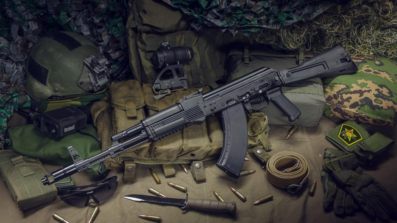 оружие, автомат Калашникова, hd обои