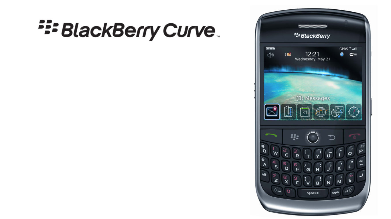 телефон, Blackberry Curve, блэкберри, хайтек, hd обои