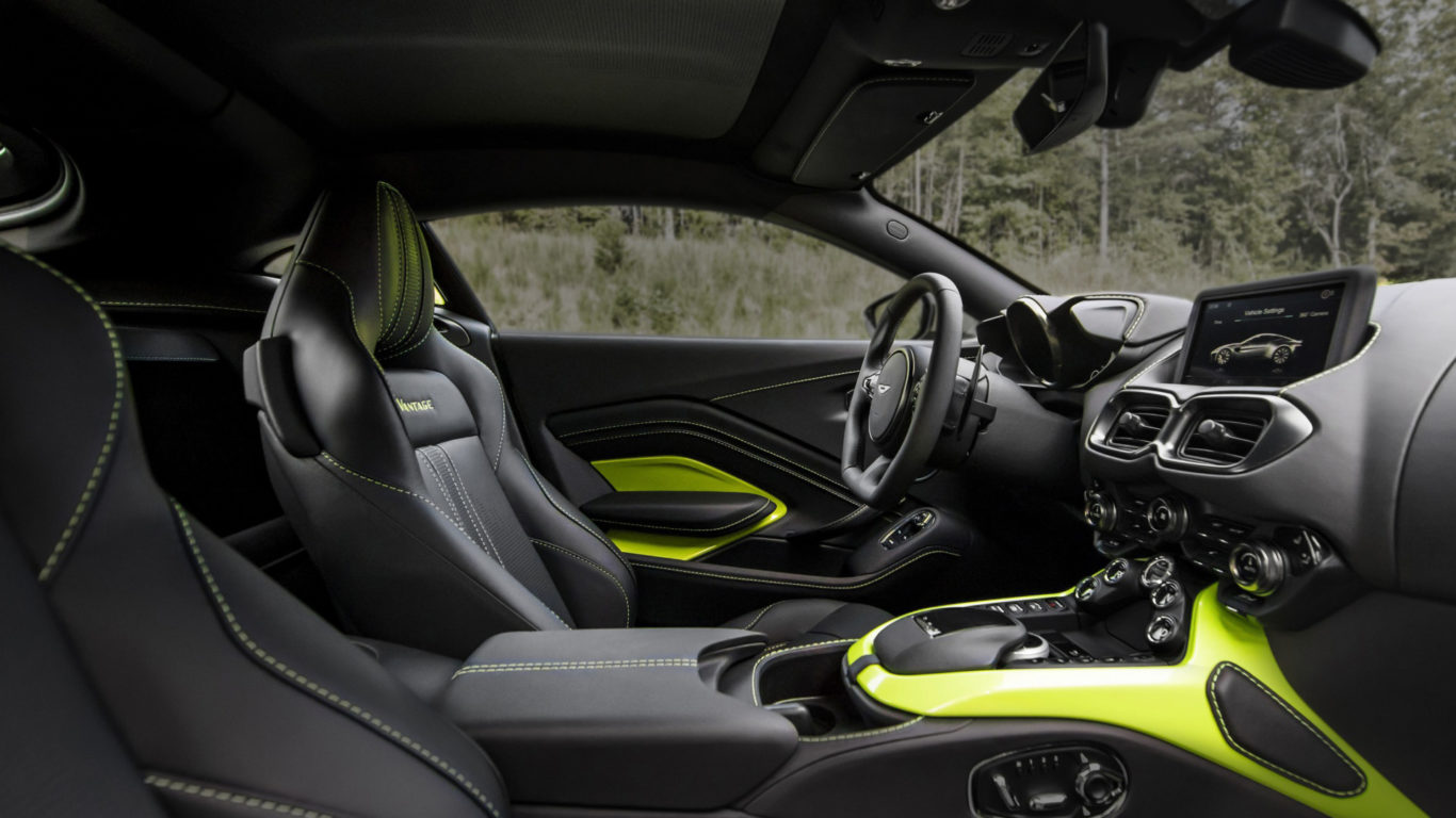 hd обои автомобилей - Aston Martin Vantage