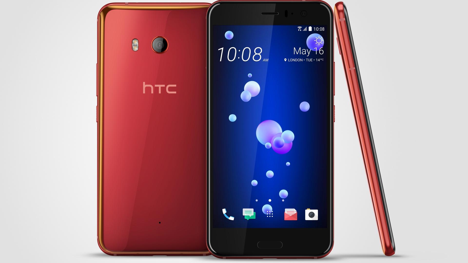 Hi-tech обои - смартфон HTC U11