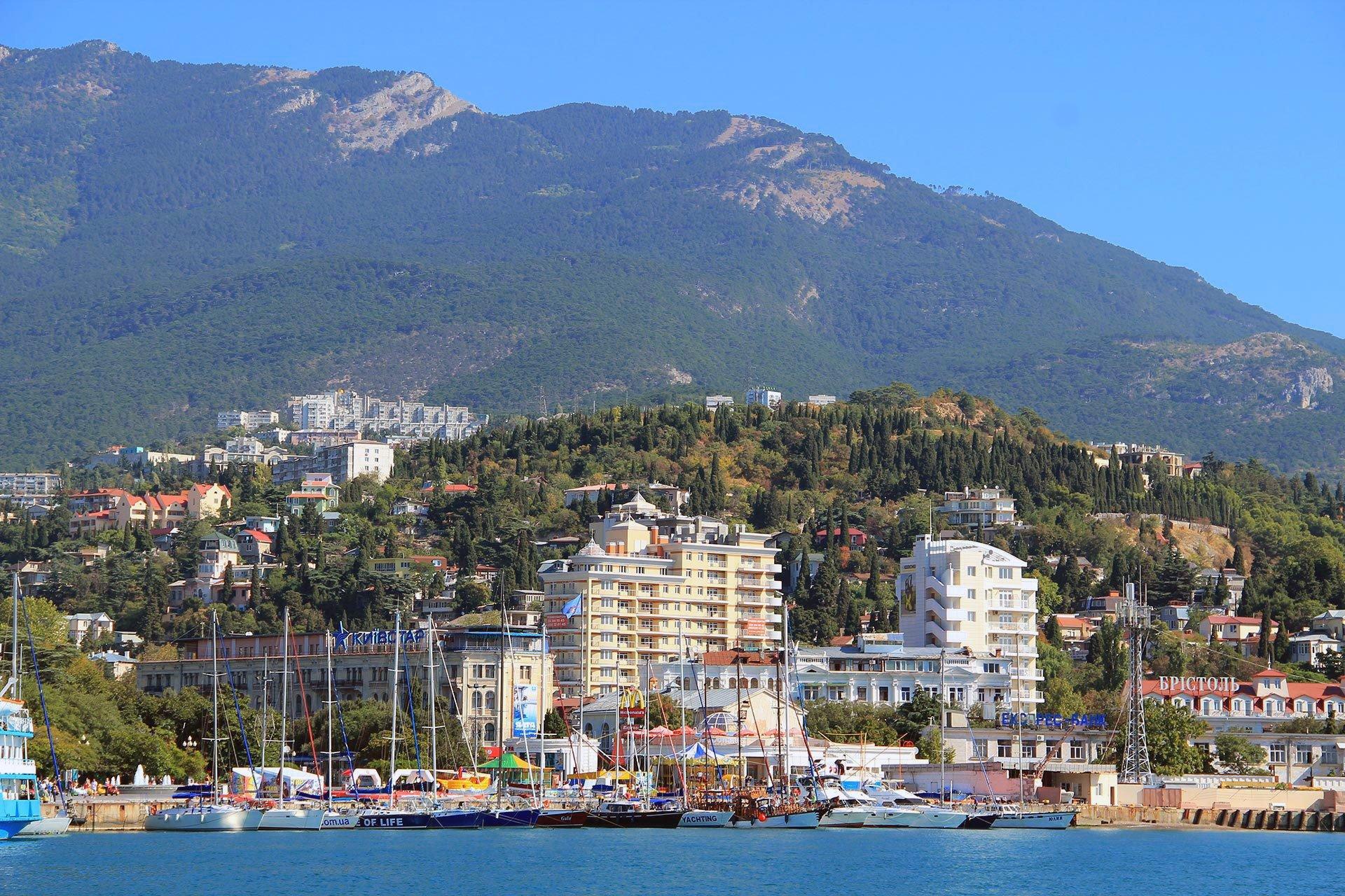 Ялта - Крым, города обои
