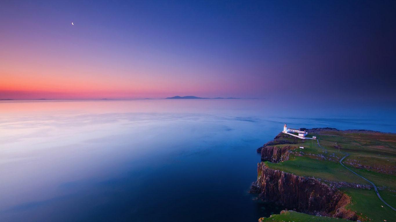 Природа обои, Литл-Минч в Шотландии, hd, города, страны