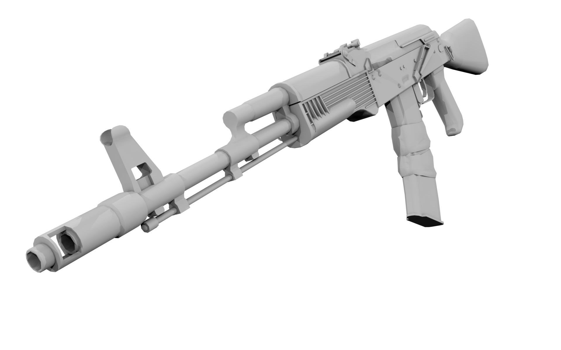 Модель оружия АК 47