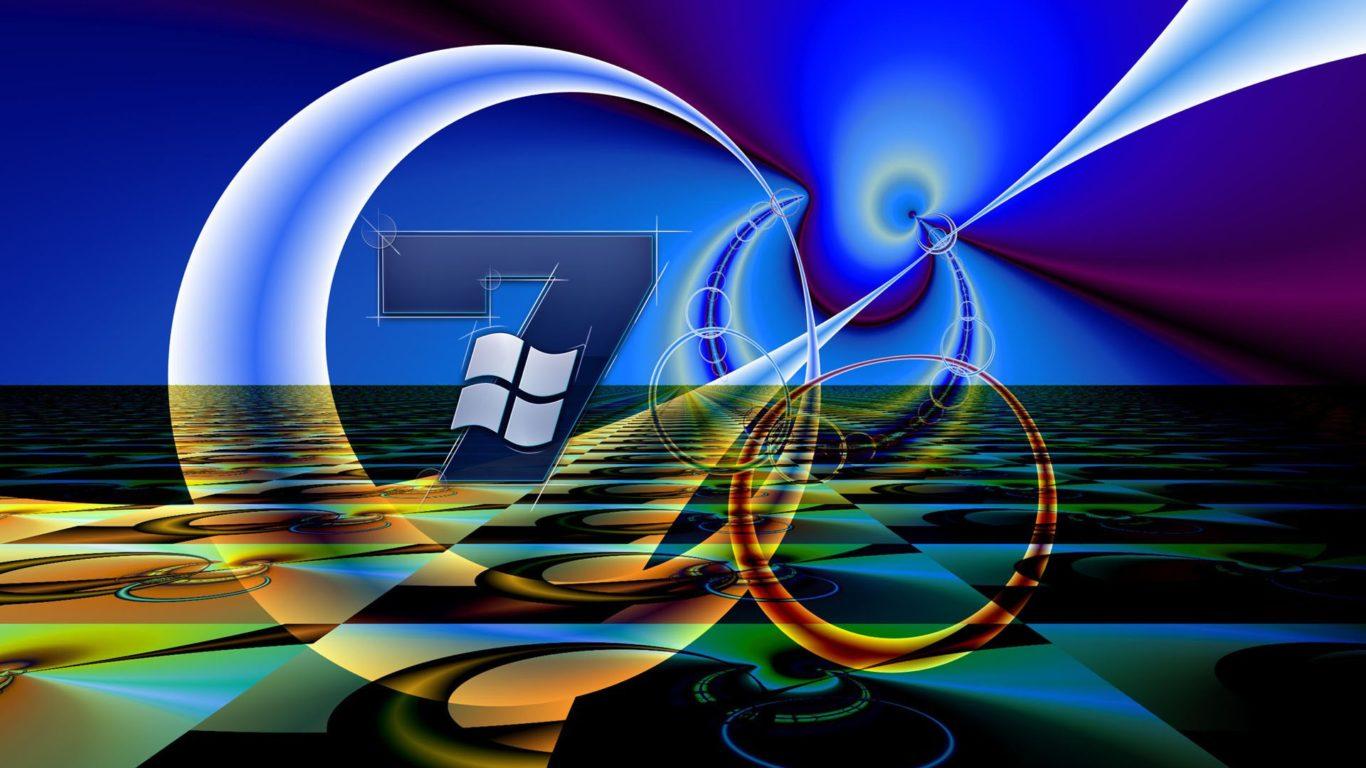 обои hi tech, Microsoft Windows 7, hd заставки