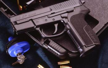 Оружие, пистолет SIG SP 2340