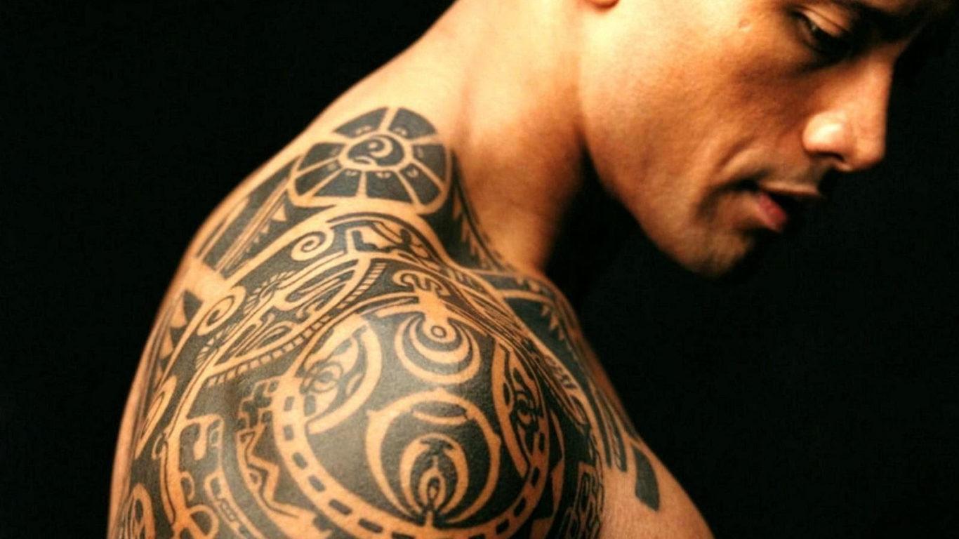 тату, мужские, татуировки на плече, фото