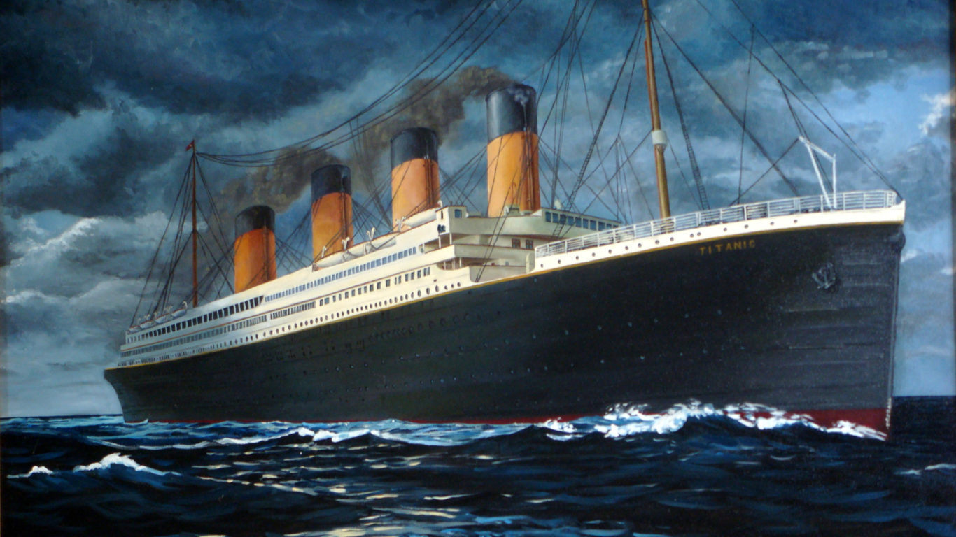 Корабли обои, титаник, titanic ship wallpaper
