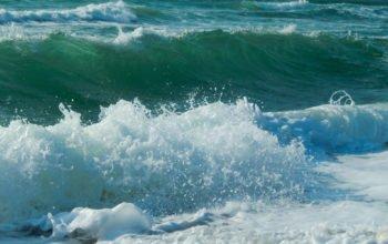 природа, море, волны, hd обои
