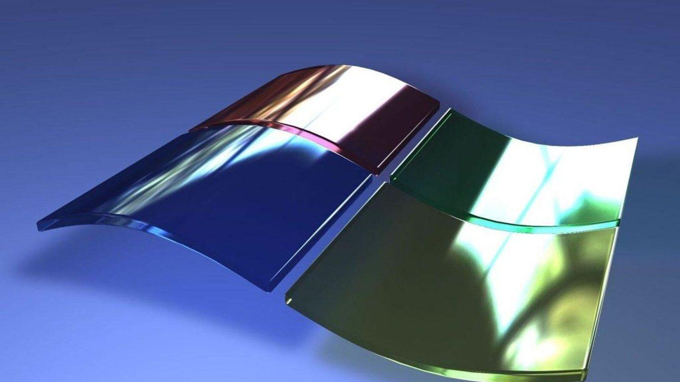 Windows XP, 3d logo