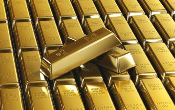 Золотые слитки, золото