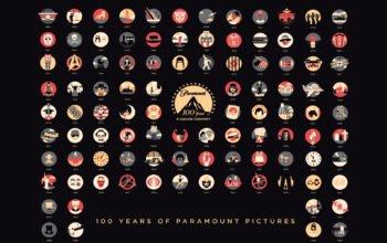 Логотип, бренды, Paramount pictures