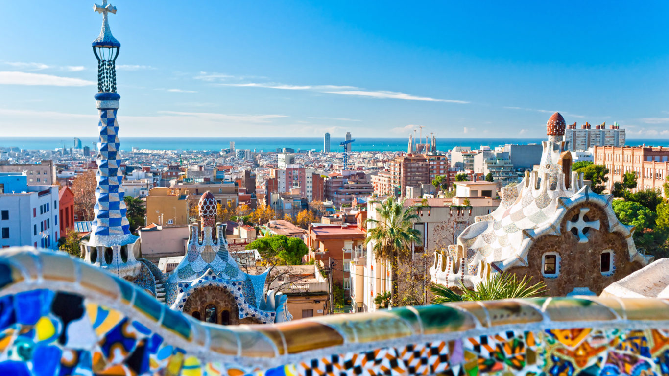 Барселона, Испания, города и страны