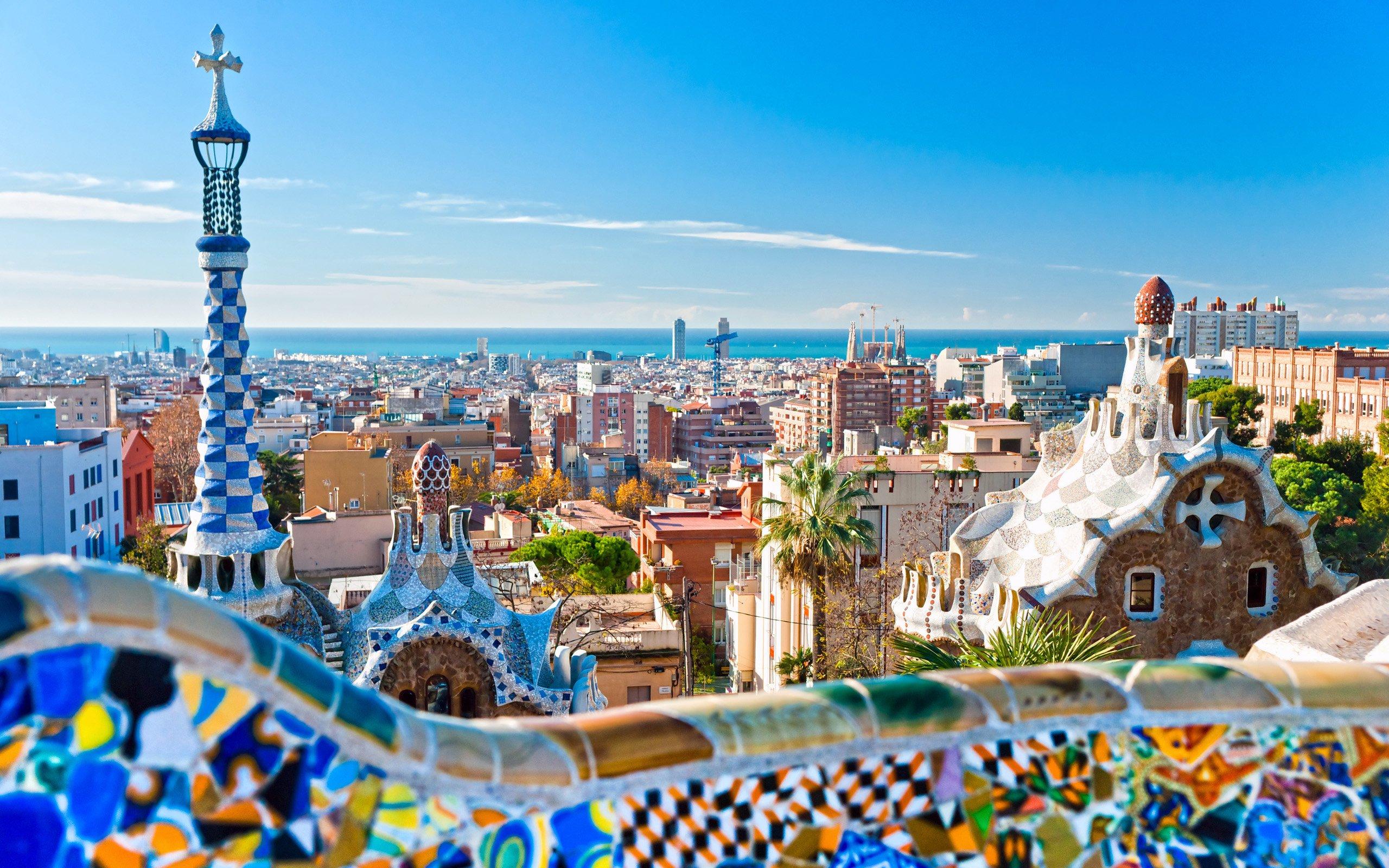 Барселона, Испания, города и страны, hd обои