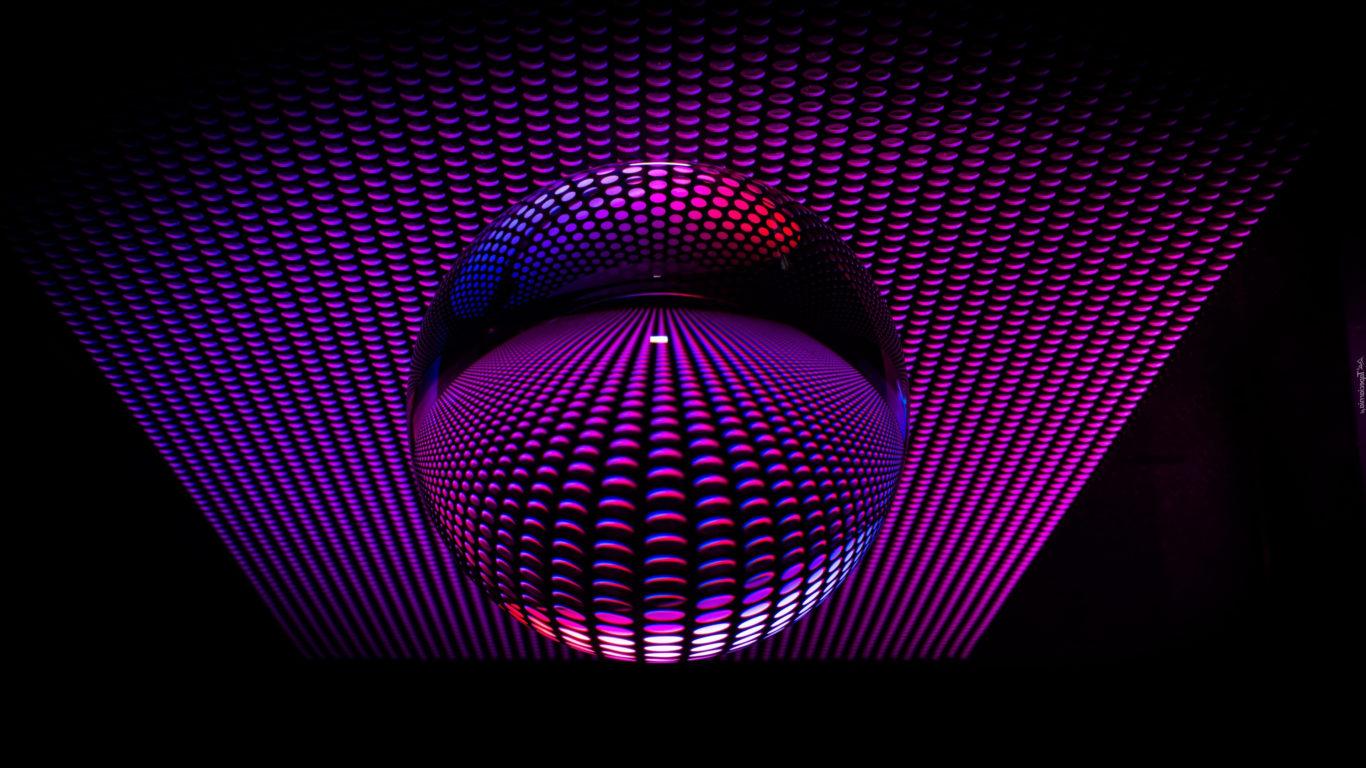 3d обои, сфера, 3д графика, 4к заставки