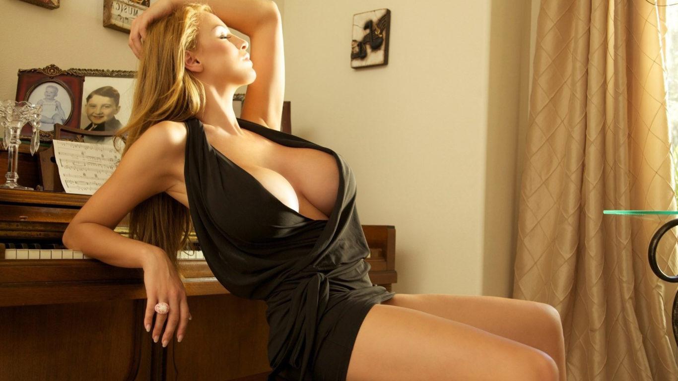 Большая грудь, девушка с большой грудью, hd обои