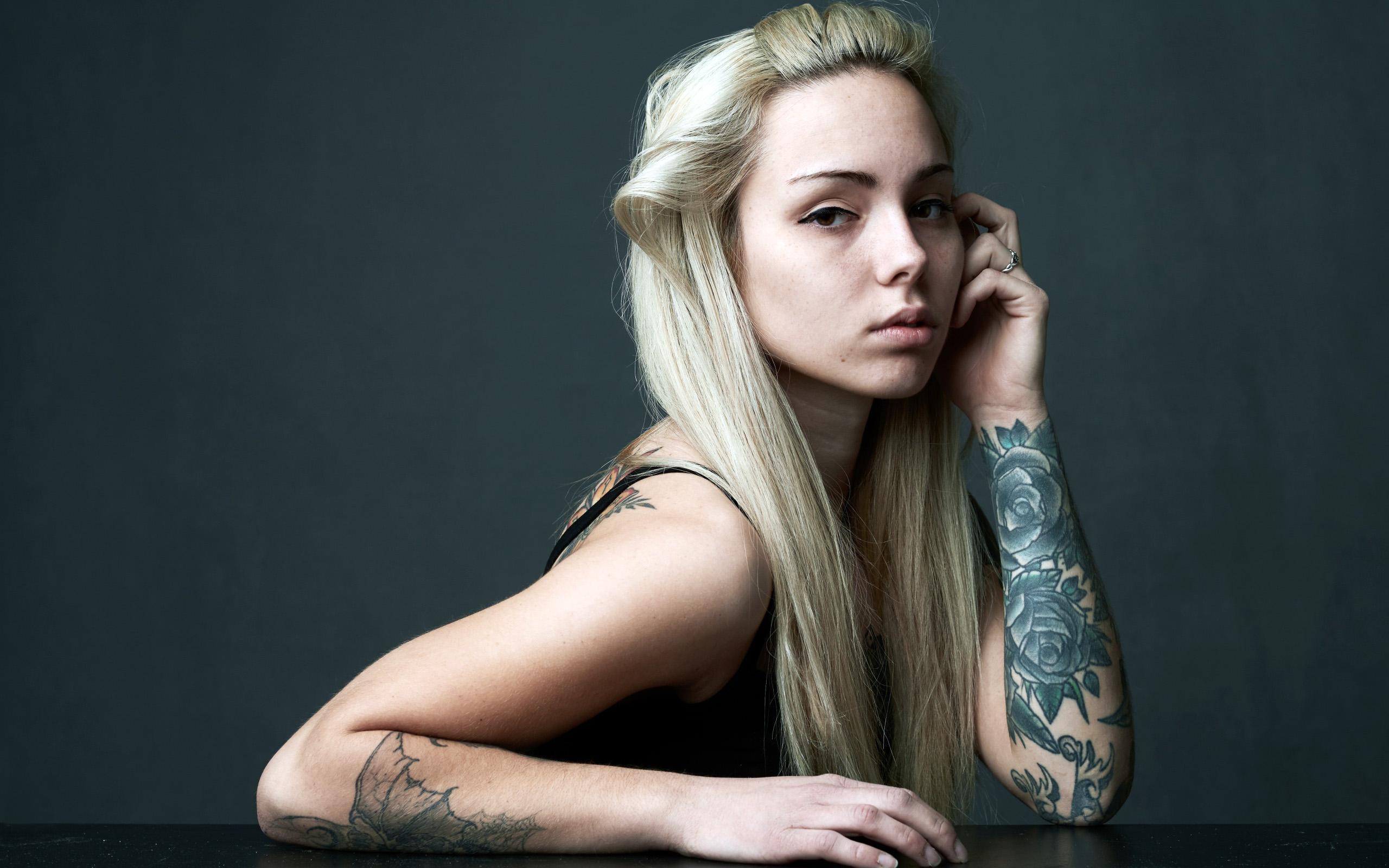 татуировки, девушка, тату на руке