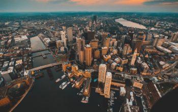 Архитектура, города, страны, вид сверху