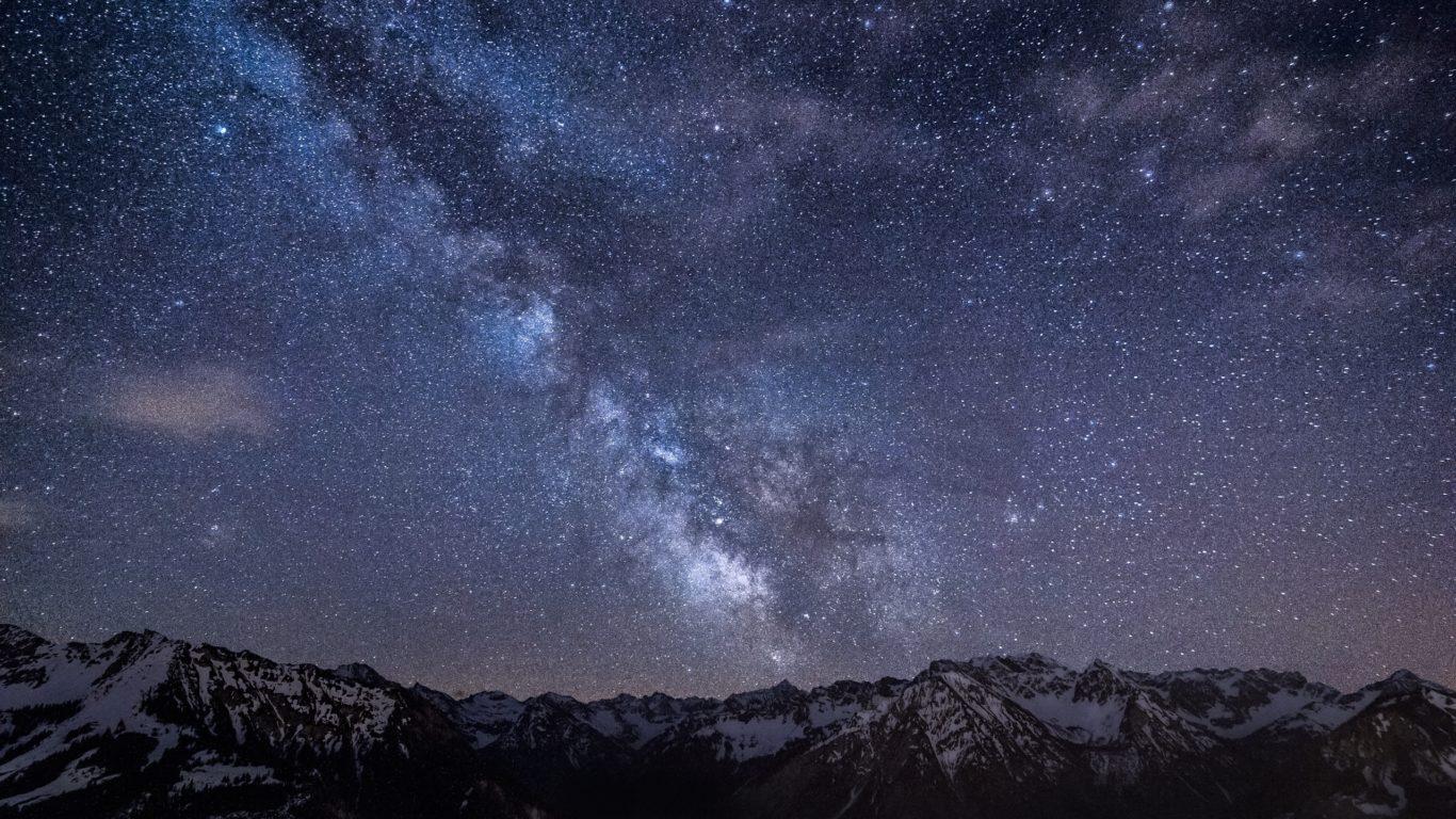 Млечный путь, звезды, космос, галактика