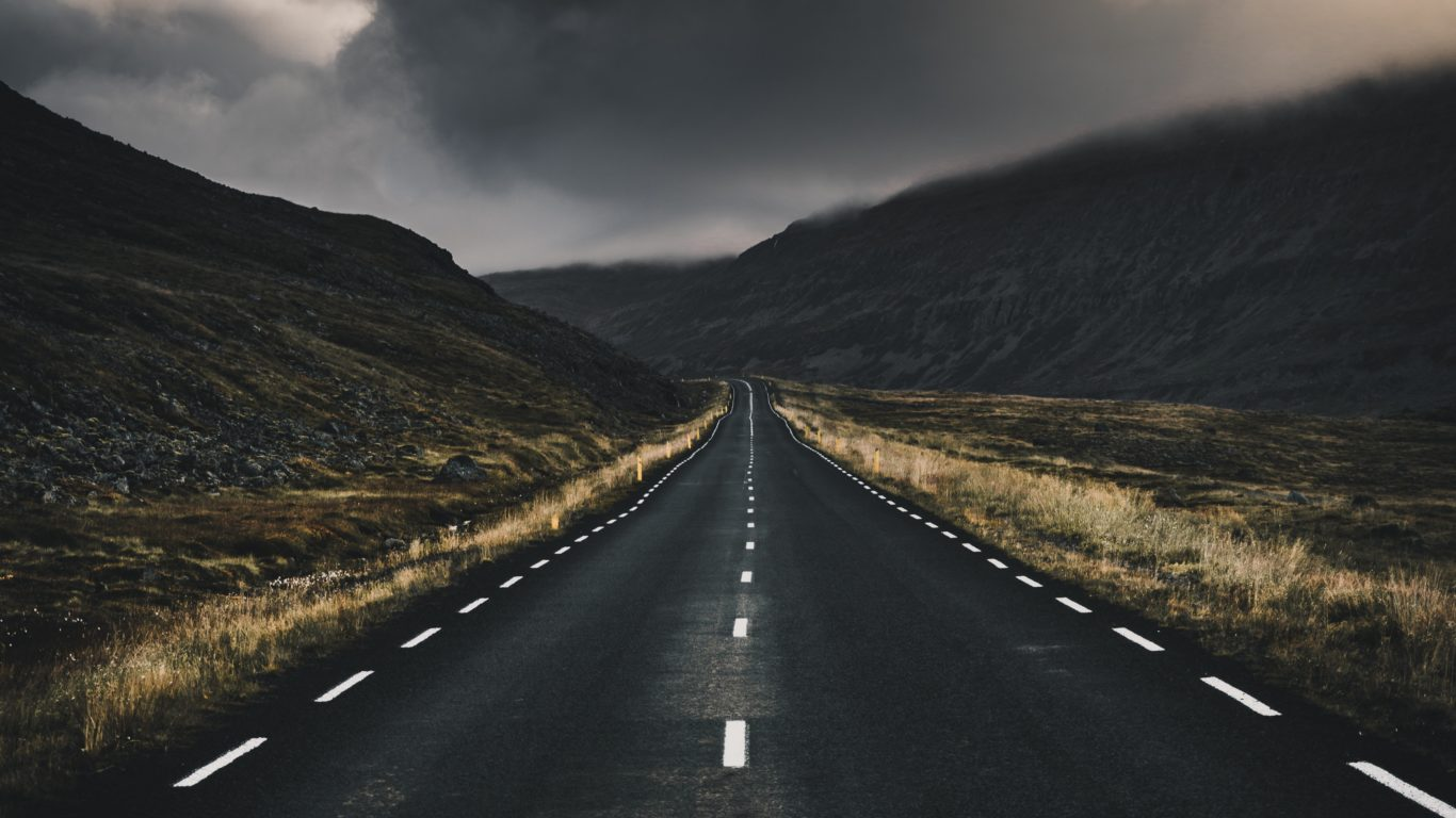 пейзаж, дорога, горы, 4k ultra HD