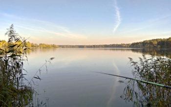 природа, рыбалка на озере, 4k обои, lake
