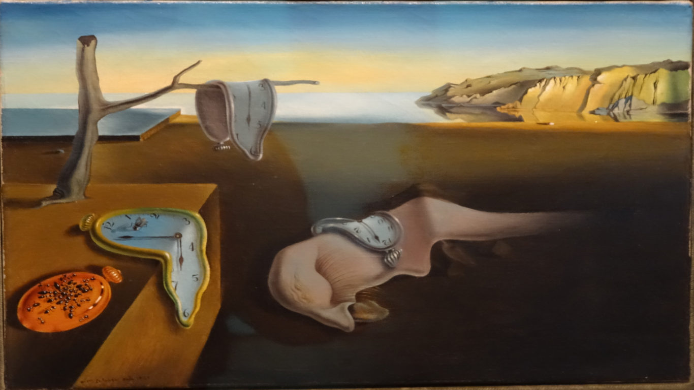 живопись, искусство, арт, Сальвадор Дали, Постоянство памяти, картина, 4k обои