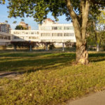 Парк возле школы