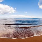 Спокойные волны на море
