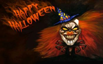 Страшный клоун, hallowwen