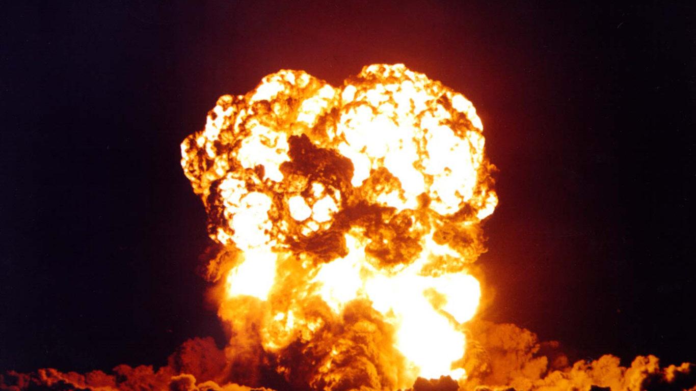 Ядерный взрыв, взрыв атомной бомбы, Nuclear explosion