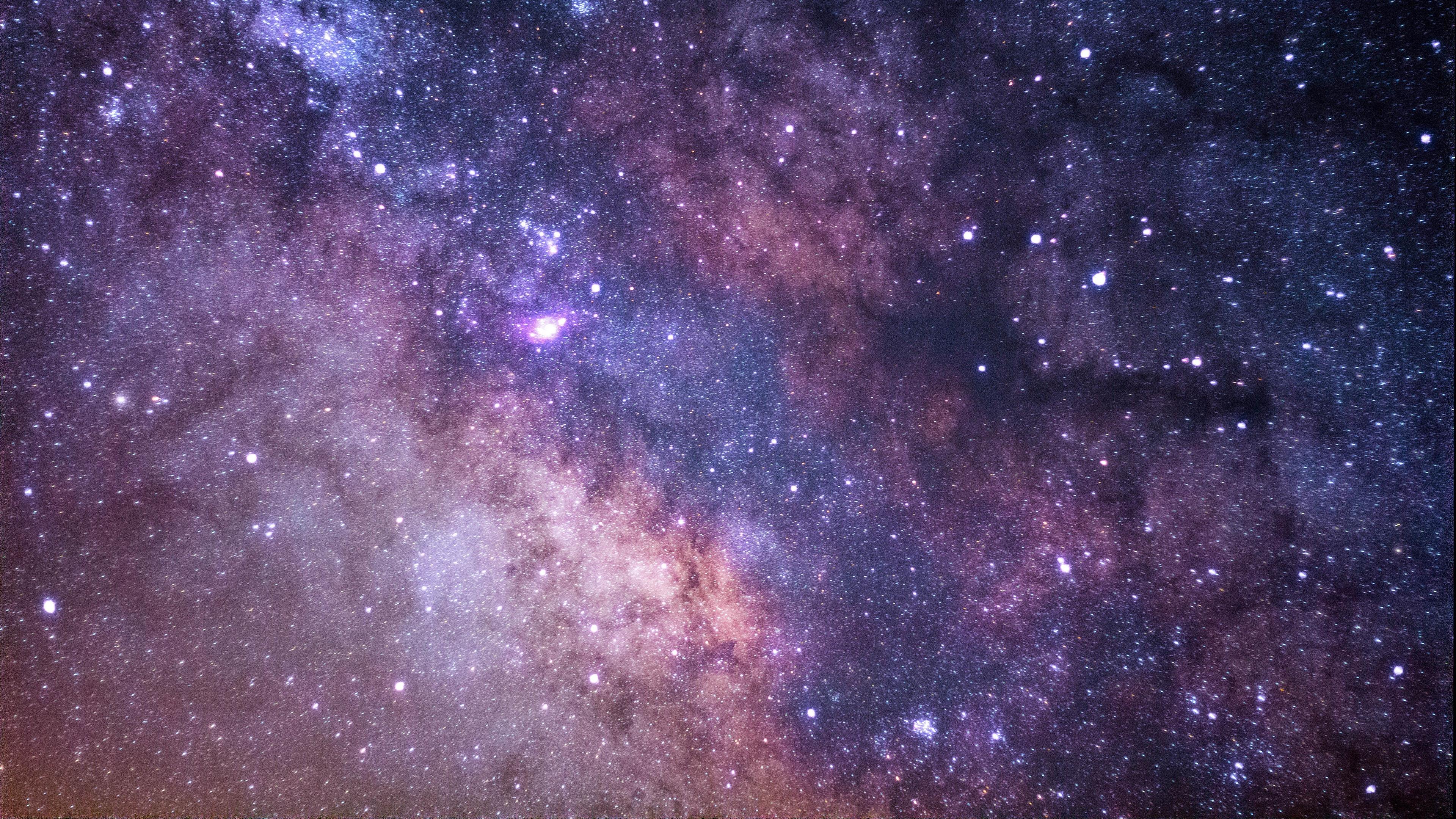 космос, звездное небо, звезды, млечний путь