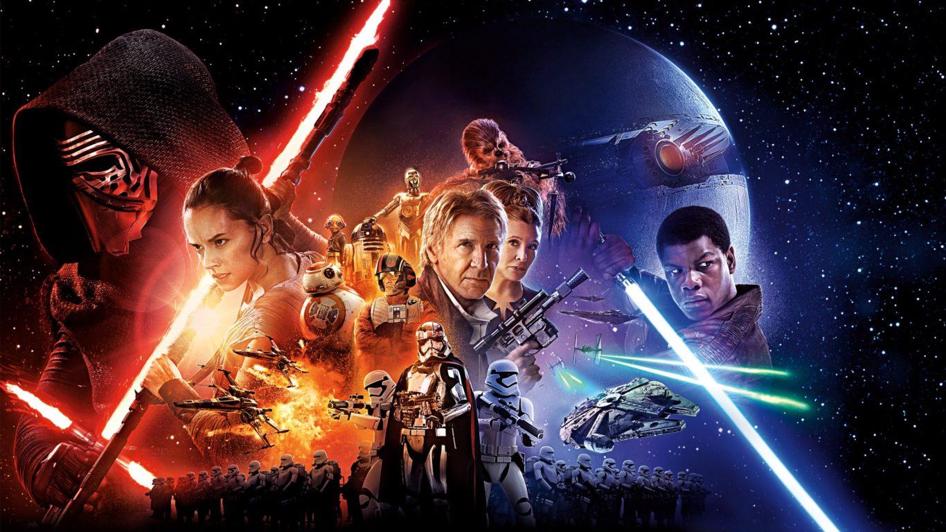 звездные войны, star wars, главные герои, пробуждение силы, hq
