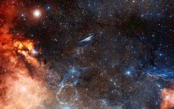Космос, звезды 4K Ultra HD, галактика, вселенная