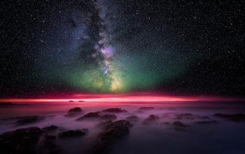Млечный путь, космос, звезды, галактика