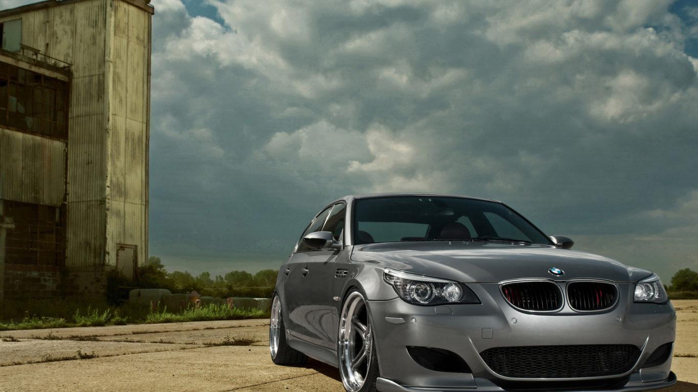 серый BMW M5, авто, бмв м5, cars, hd обои