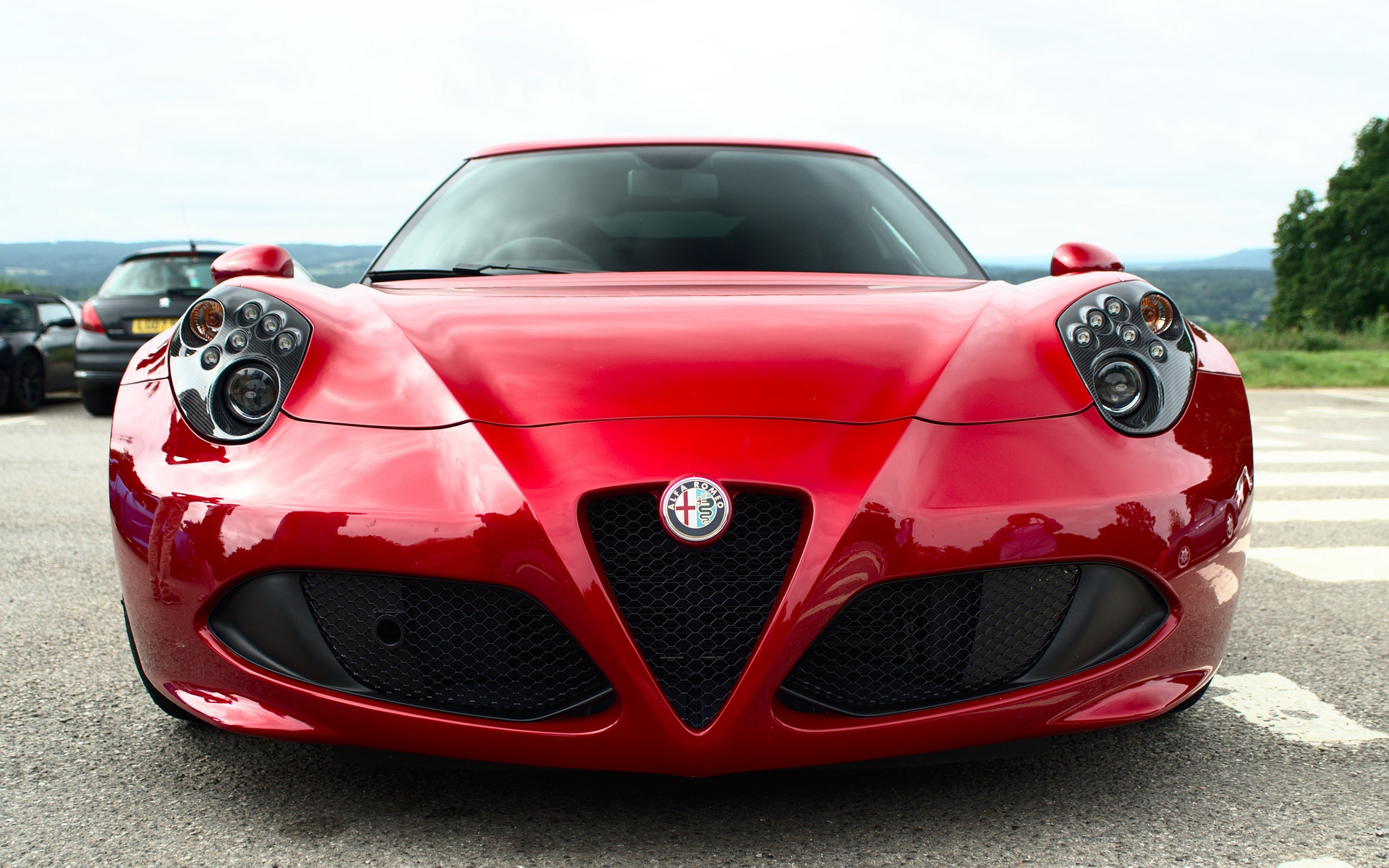 Alfa Romeo, альфа ромео, авто, cars, спорткар, hd обои
