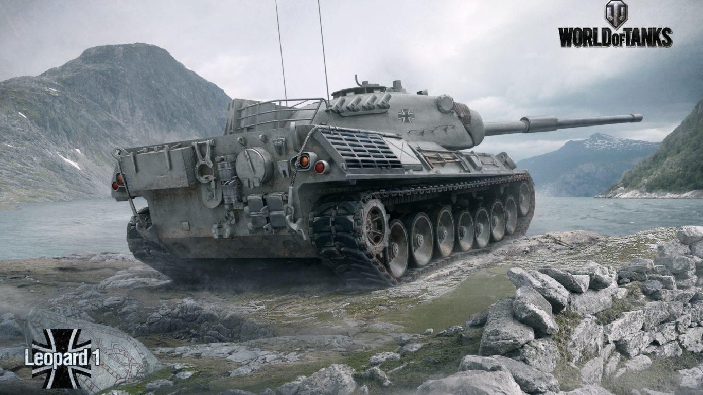 World of Tanks , танк Леопард, игры, обои hd