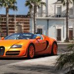 Оранжевый Bugatti Veyron