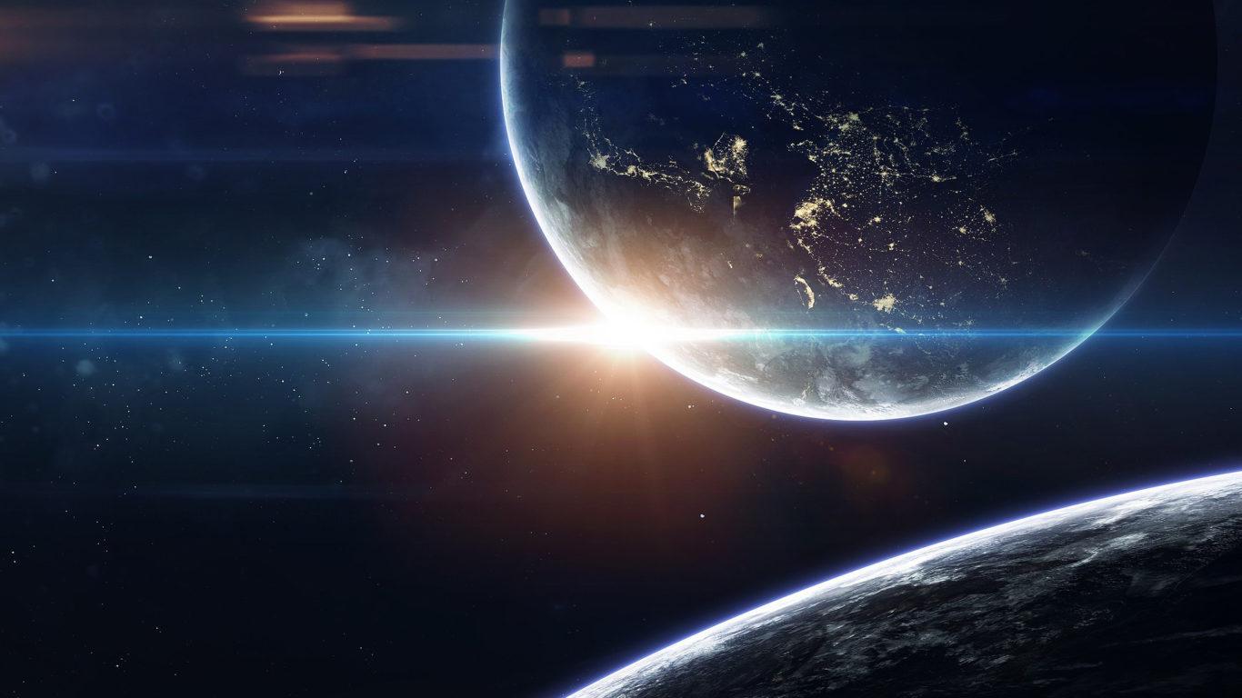 космос, планеты, вселенная, галактика, hd обои