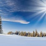Красивая природа зимы