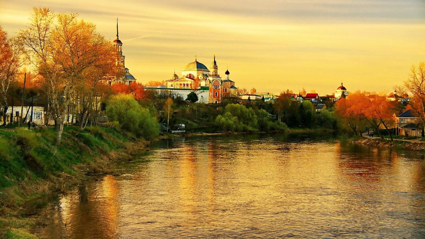Россия, Торжок, Тверь, города обои, страны мира, 4k