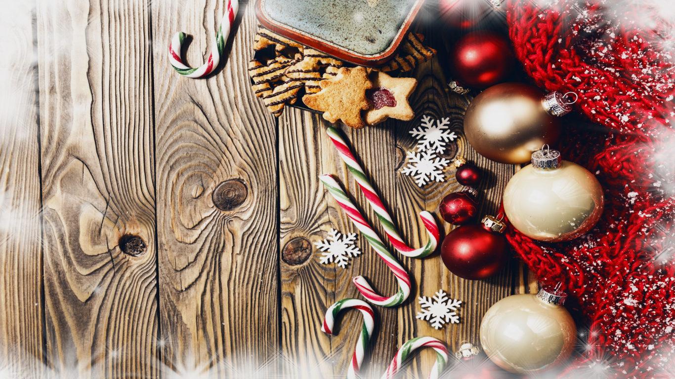 Новый Год, Рождество, украшения, шары, Christmas, new year, новогодние обои hd, 4k