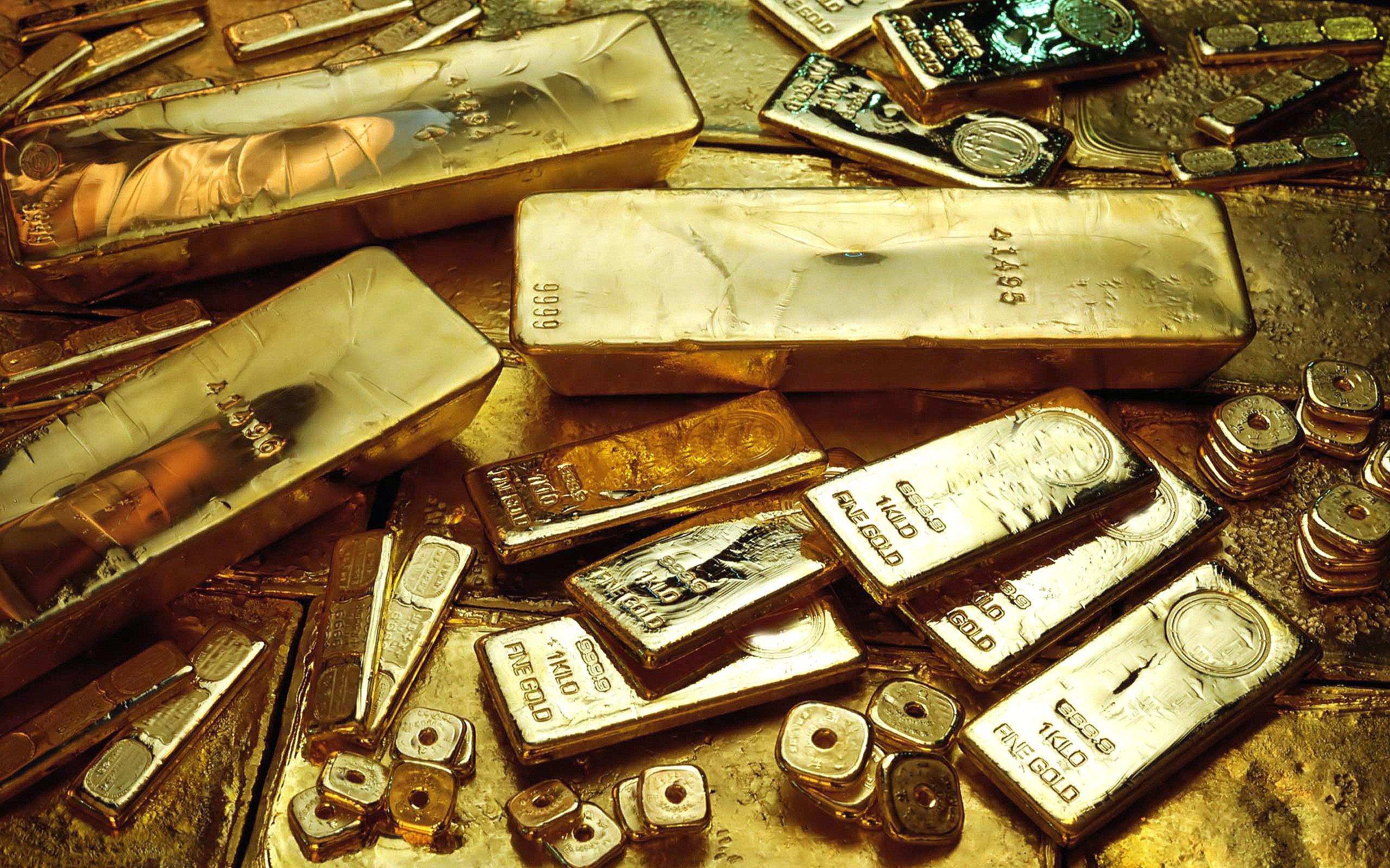 золото, слитки, финансы, широкоформатные, gold bars