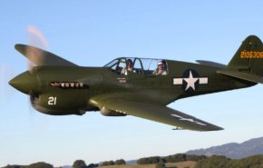 Curtiss P-40 warhawk, самолеты,