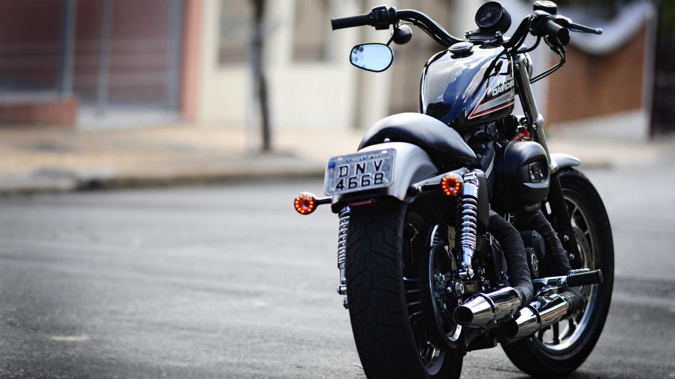 Harley Davidson, харли дэвидсон 883, moto, мотоцикл, 4к обои