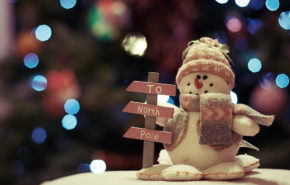 Снеговик, Новый Год, Северный полюс, обои hd, Snowman, New Year, North Pole