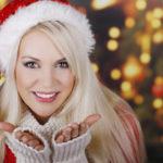 Рождественская девушка